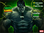 Click here to play Incredible Hulk Slots